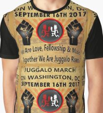 9-16-17 Juggalo March On Washington, DC Graphic T-Shirt