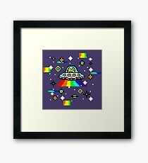 Cats invaders Framed Print