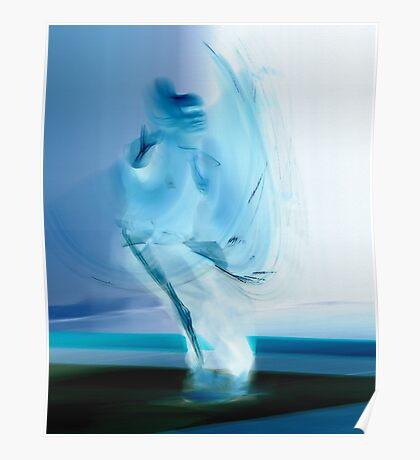 Blue Ninja Poster