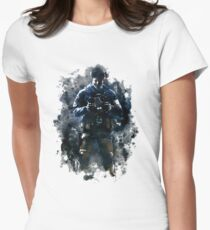 Rainbow Six Siege Echo Painting Womens Fitted T-Shirt