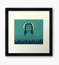 Forest Goddess Framed Print