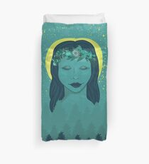 Forest Goddess Duvet Cover