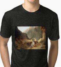 Carl Blechen Bridge of the Devil Tri-blend T-Shirt