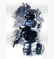 Rainbow Six Siege IQ Painting Poster