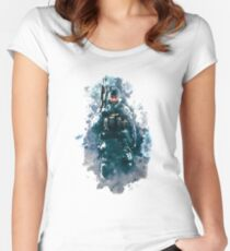 Rainbow Six Siege Buck Painting Women's Fitted Scoop T-Shirt