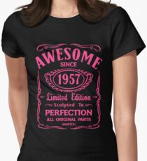 Awesome Since 1957 Birthday Gift Idea T-Shirt
