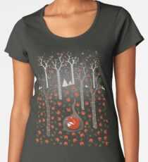 Sleeping Fox Women's Premium T-Shirt