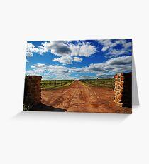 Vineyard # 2  Greeting Card
