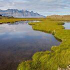 Icelandic landscape by Dominika Aniola