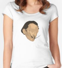 Salvador - Face Women's Fitted Scoop T-Shirt