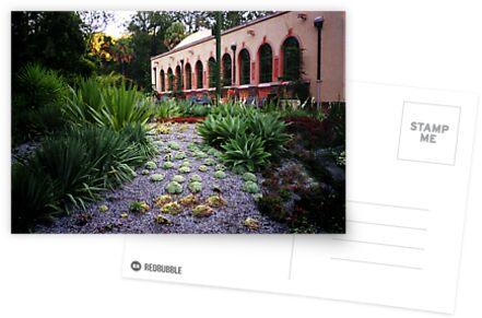 Conservatory, Fitzroy Gardens, Melbourne by Roz McQuillan