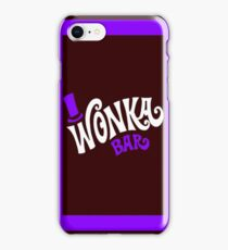 wonka purple iPhone Case/Skin