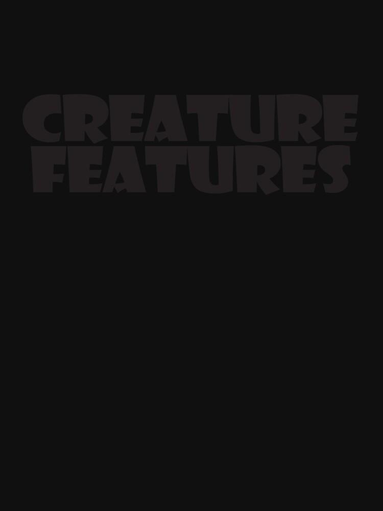 Black Logo On Black by CreatureStore