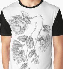 Camellia Japonica Graphic T-Shirt
