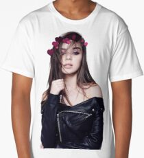 Hailee Steinfeld Heart Crown Long T-Shirt
