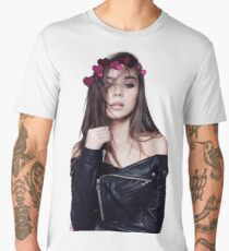 Hailee Steinfeld Heart Crown Men's Premium T-Shirt