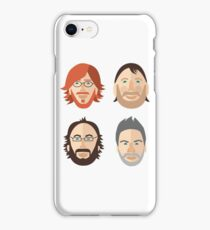 Trey, Fish, Mike, Page as Vector Characters iPhone Case/Skin