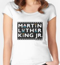 MLK - Martin TV Women's Fitted Scoop T-Shirt