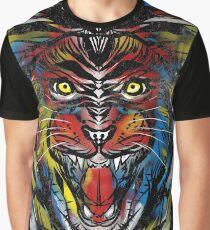 stencil lion Graphic T-Shirt