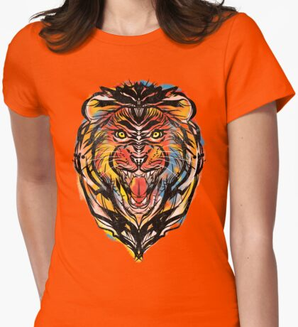stencil lion T-Shirt