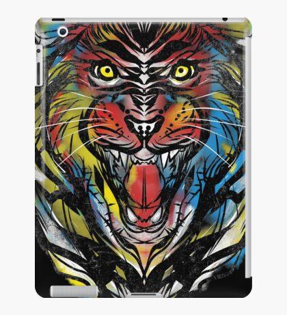 stencil lion iPad Case/Skin