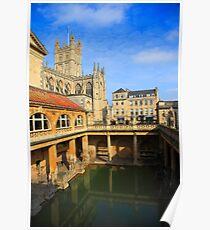 Roman Baths, Bath England Poster