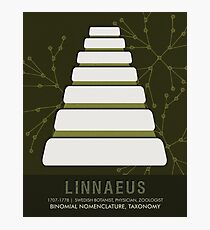 Science Posters - Carl Linnaeus - Botanist, Physician, Zoologist Photographic Print