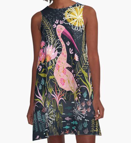Pelican Life A-Line Dress