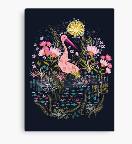 Pelican Life Canvas Print