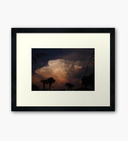 Tropical Storm Framed Print