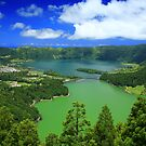 Lakes in Azores by Gaspar Avila