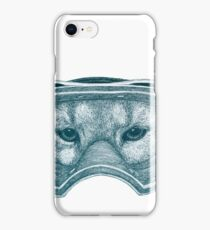 Cougar Goggles iPhone Case/Skin