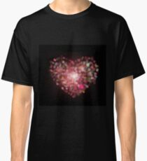 heart shape bokeh Classic T-Shirt