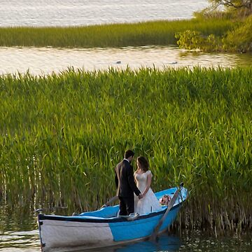 Lake wedding by hayrettinsokmen