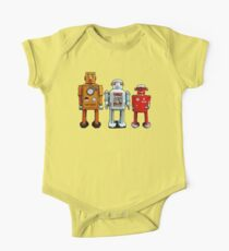 Three Robots. One Piece - Short Sleeve