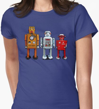 Three Robots. T-Shirt