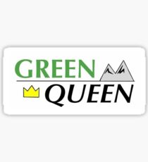 Be A Queen, Be Green Sticker