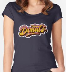 Donuts Women's Fitted Scoop T-Shirt