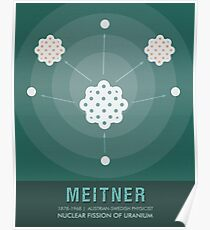 Science Posters - Lise Meitner - Physicist Poster