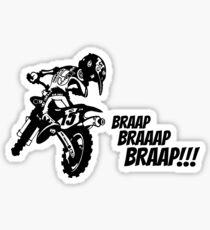 Motocross Sticker