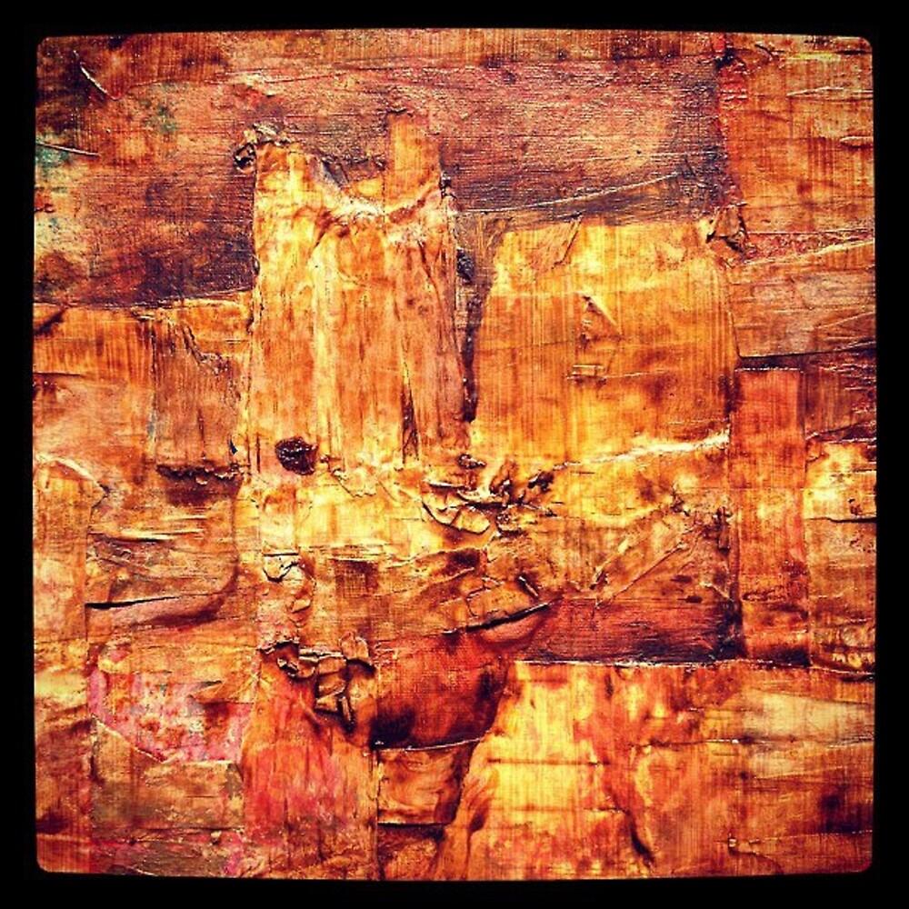 Birch Landscape by ginaleon
