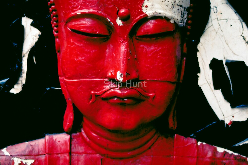 Buddha Red by Skip Hunt