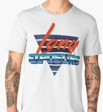 80s long exposure logo Men's Premium T-Shirt