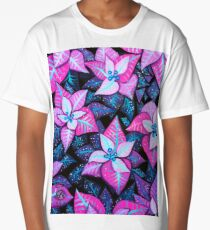 Leaves - Acrylic Painting Long T-Shirt