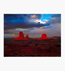 Monument Valley Mittens Photographic Print