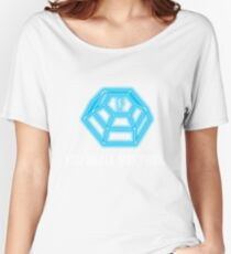 You shall not pass - ForceField blue Women's Relaxed Fit T-Shirt