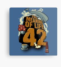 The Meaning of Life Metal Print