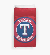 Texas Rangers Baseball Club Duvet Cover