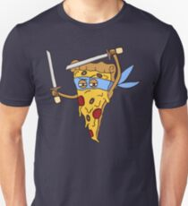 Blue Ninja Pizza Unisex T-Shirt