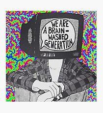 Wir sind ein Gehirnwäsche-Generation T-Shirt Fotodruck